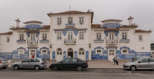 Frumoasa gară veche din Aveiro