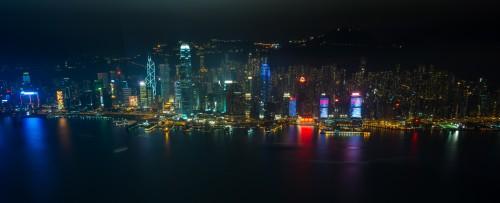 Clădirile din Hong Kong