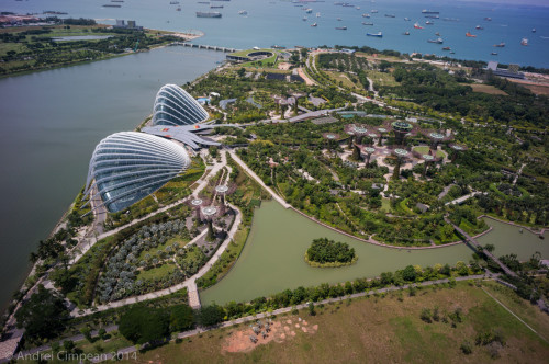 Gardens by the Bay de sus