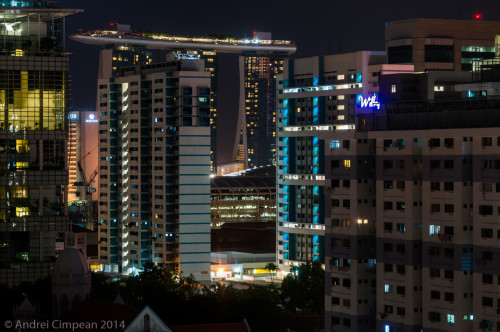 De pe geamul camerei de hotel