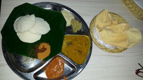 Platou indian vegetarian