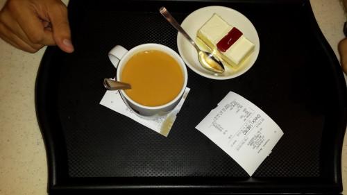 Teacake și ceai cu lapte