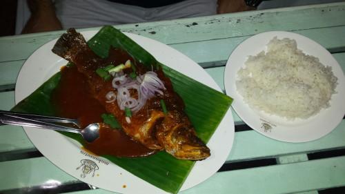 Pește în stil thailandez