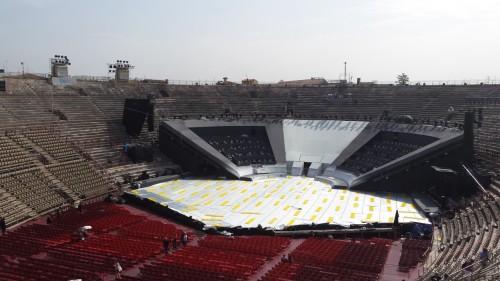 Arena di Verona pe timp de zi