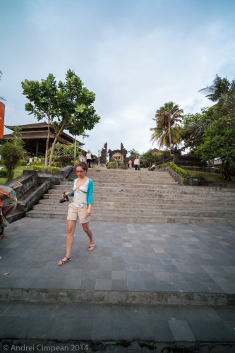 scări spre Tanah Lot