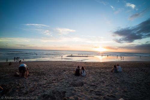 Apus Bali-plaja din Kuta