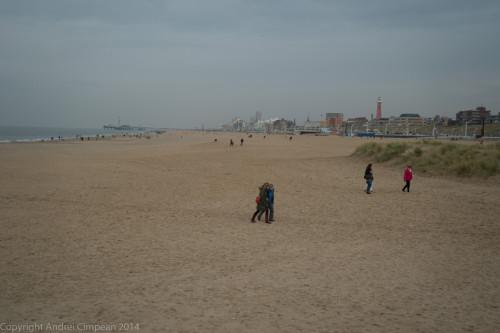 plaja Scheveningen