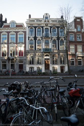 biciclete prin Amsterdam