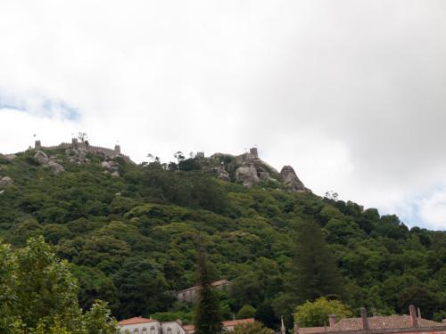Castelul Maurilor, Sintra (vedere de jos)