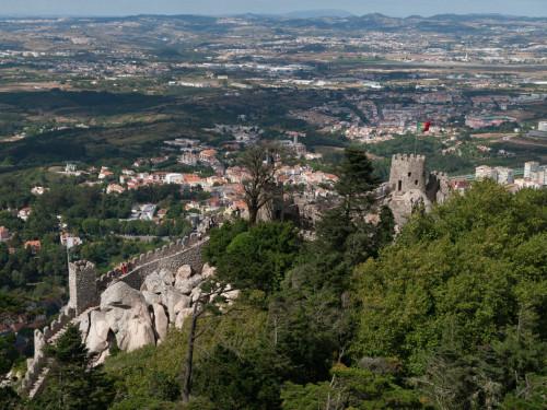 vedere frumoasa, nu? Castelul Maurilor, Sintra