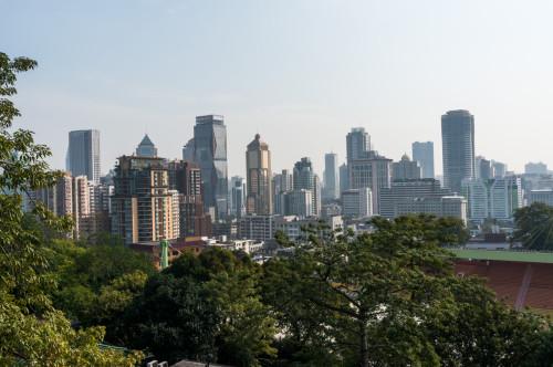 Zona clădirilor business din Guangzhou