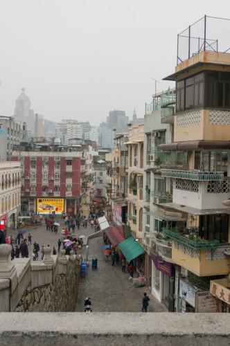 Pe stradă în Macao