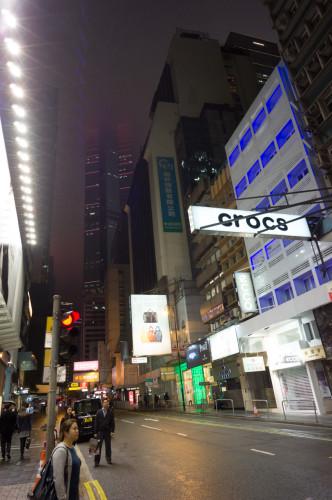 clădiri luminate colorat