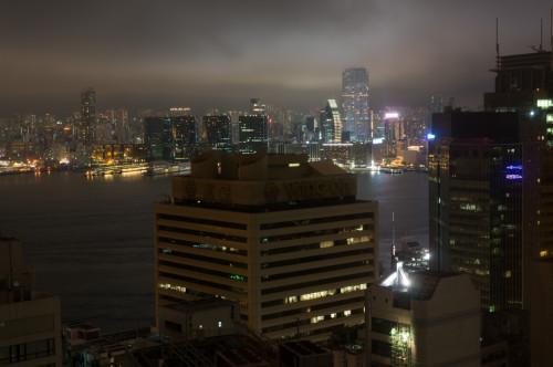 vedere din camera de hotel de pe Insula Hong Kong