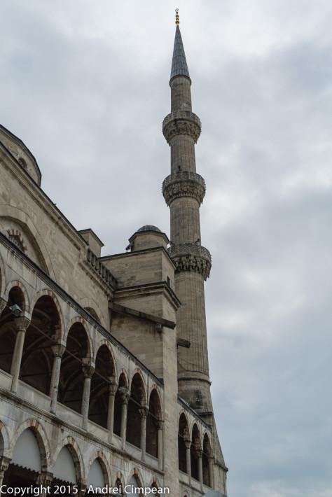 Minaret Moscheea Albastră