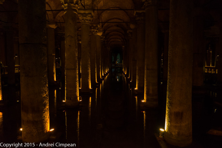 Coloane Bazilica Cisterna