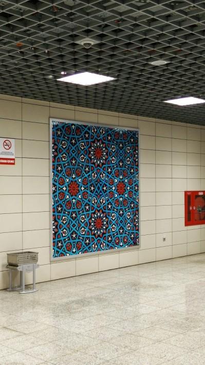 de pe culoarele metroului din Istanbul