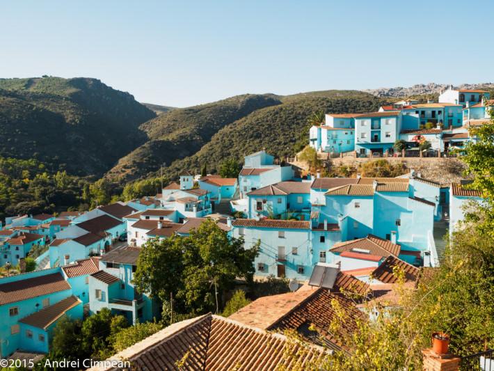 Juzcar- satul strumfilor