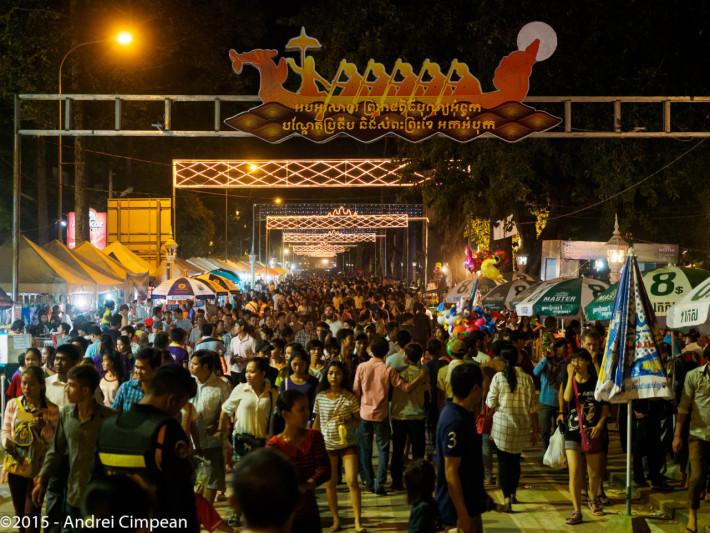 Festival, Siem Reap, Cambodgia