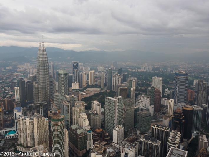 Kuala Lumpur văzută de sus