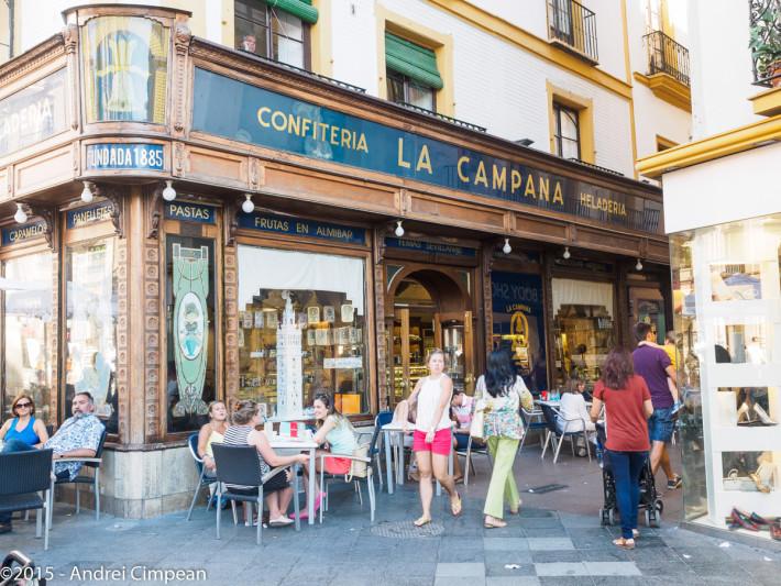 Un cofetărie cu istorie: Confiteria la Campana