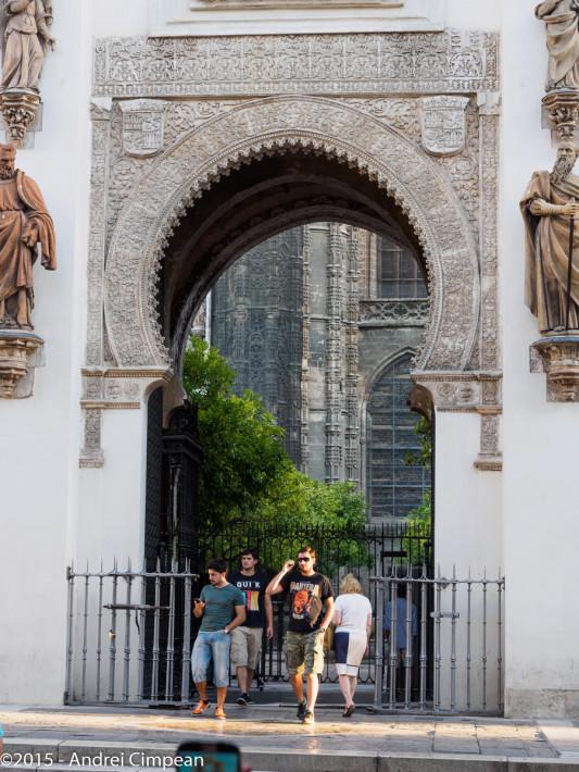 Puerta del Perdon- parte rămasă din moschee