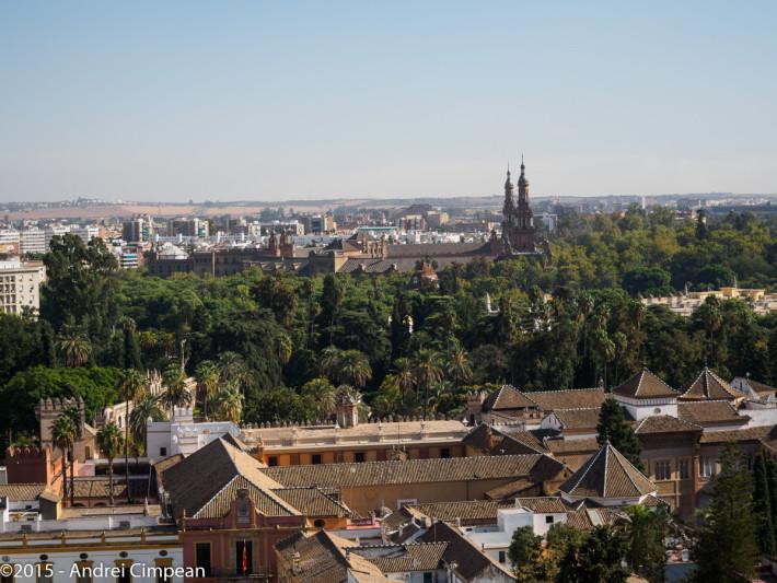 Sevilla privită din La Giralda