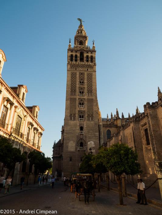 Turnul simbol al Sevillei- La Giralda