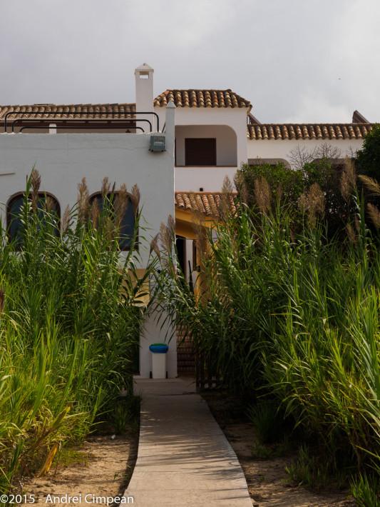 Hotelul Antonio- partea dinspre plajă