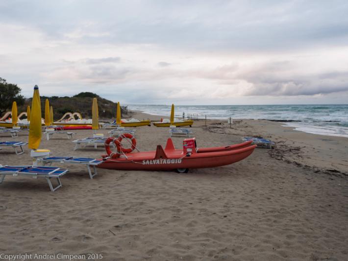 plajă la sud de Bari: Lido Morelli