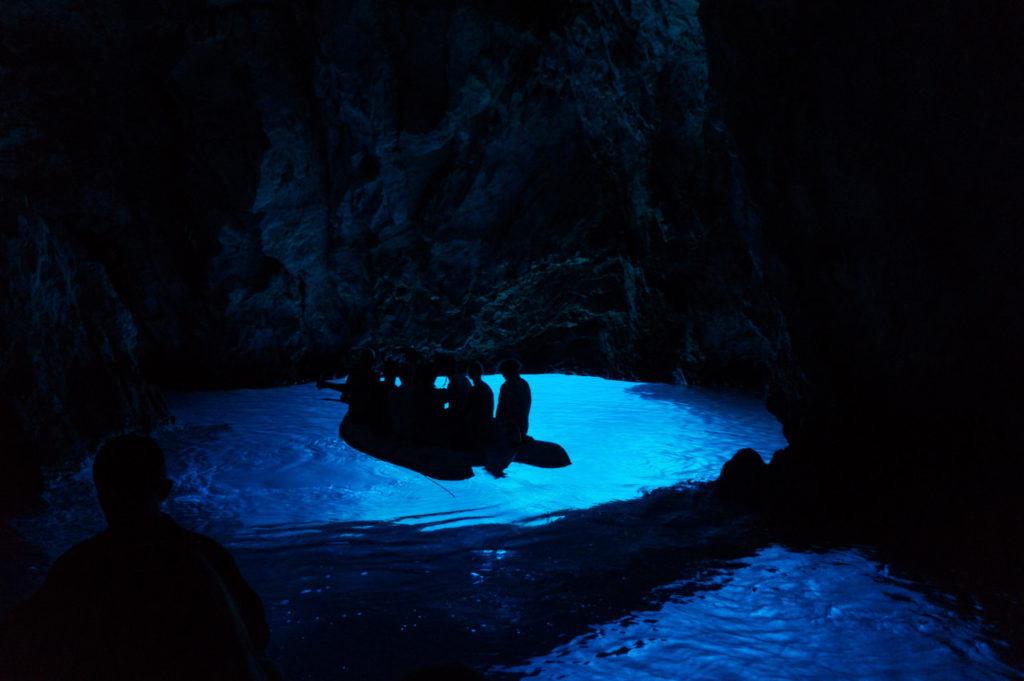 Blue Cave- Bisevo, Croația
