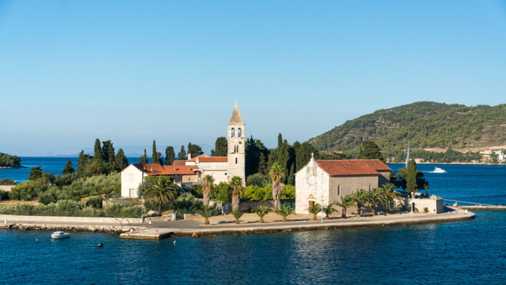 Peninsula Prirovo- Mănăstirea Franciscană și biserica St. Jerome