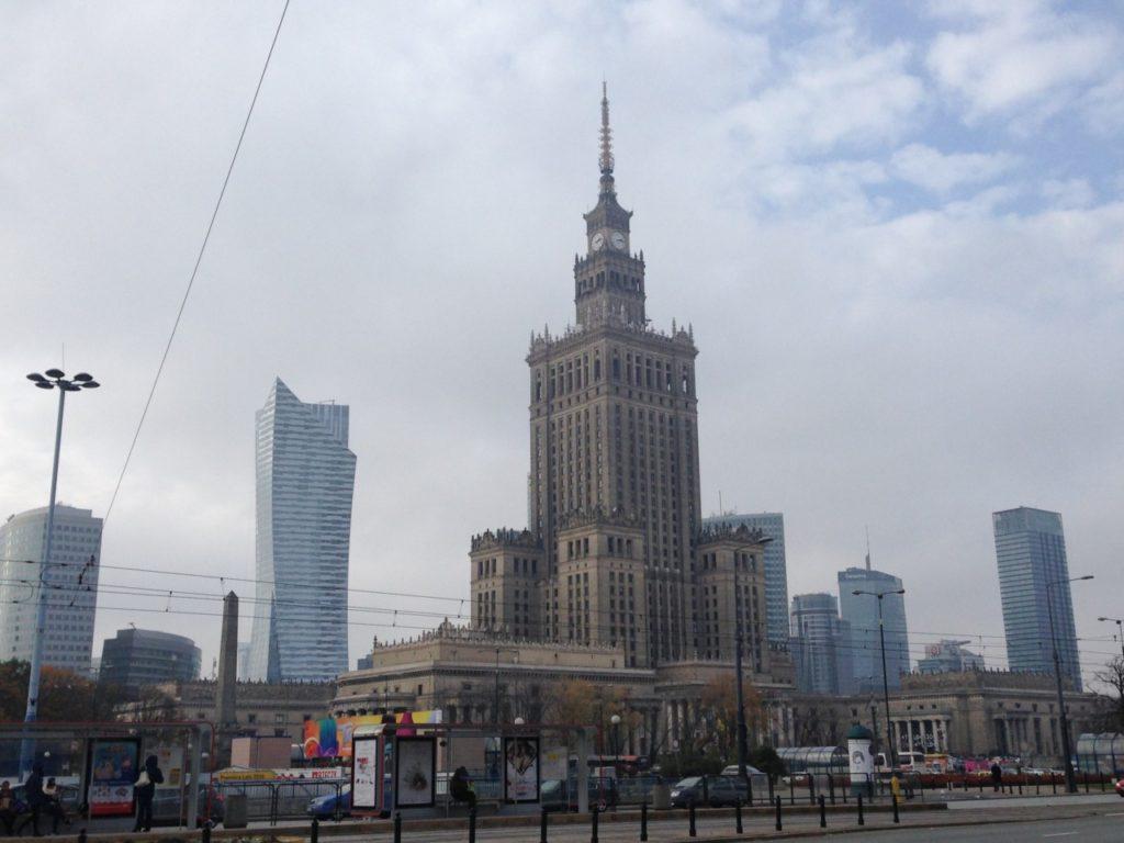 Palatul Culturii și Știintei din Varșovia