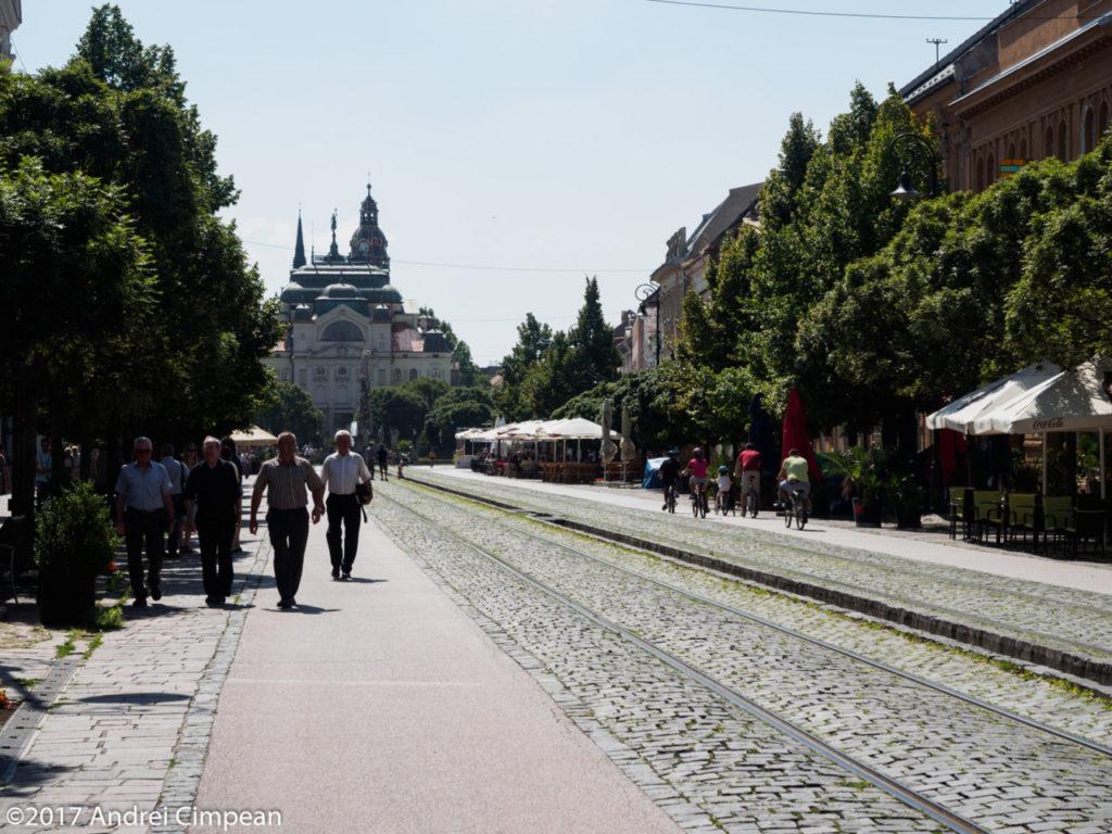 Strada principală din centrul vechi