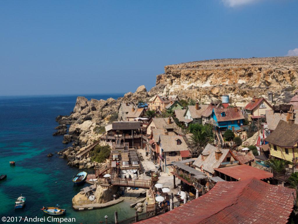 Satul lui Popeye, Malta