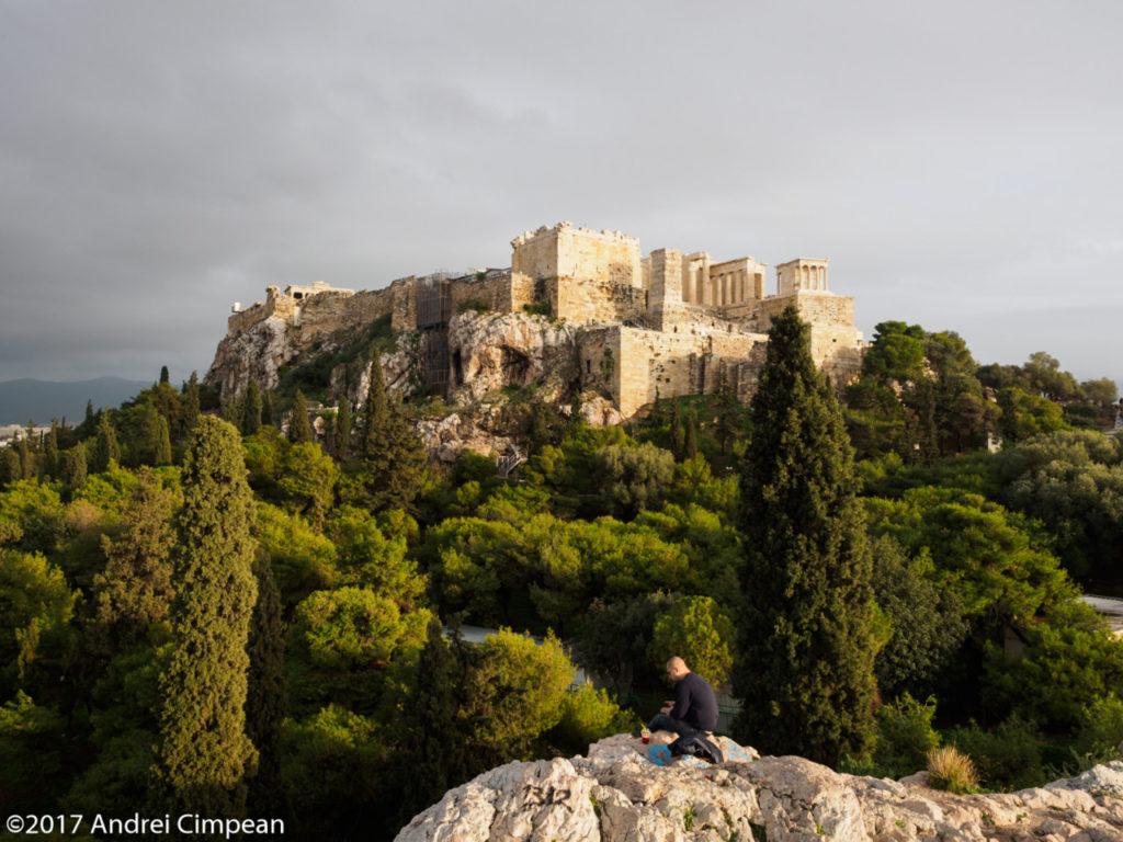 Acropole, Atena