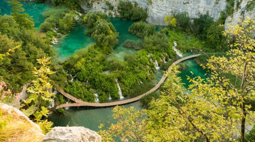 Albastru și verde de Plitvice